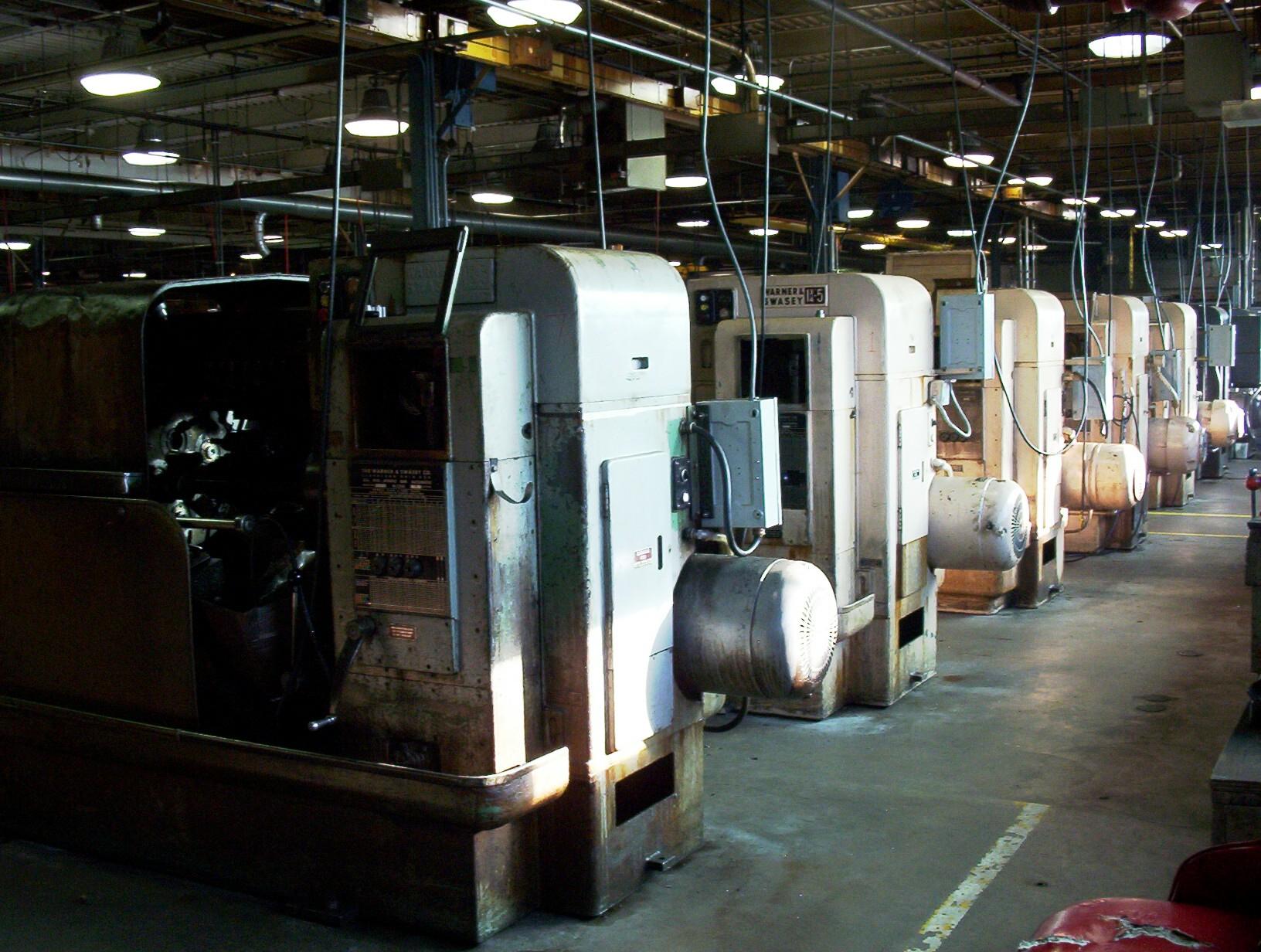 Warner & Swasey Screw Machines